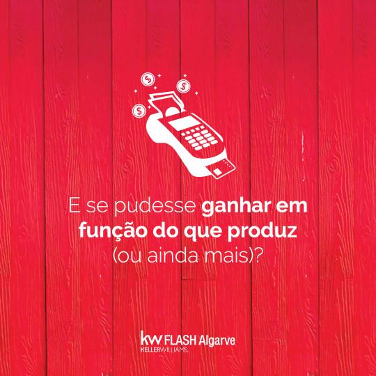 Sabia que há um sítio onde as suas ideias contam? - Recrutamento | KW Flash Algarve