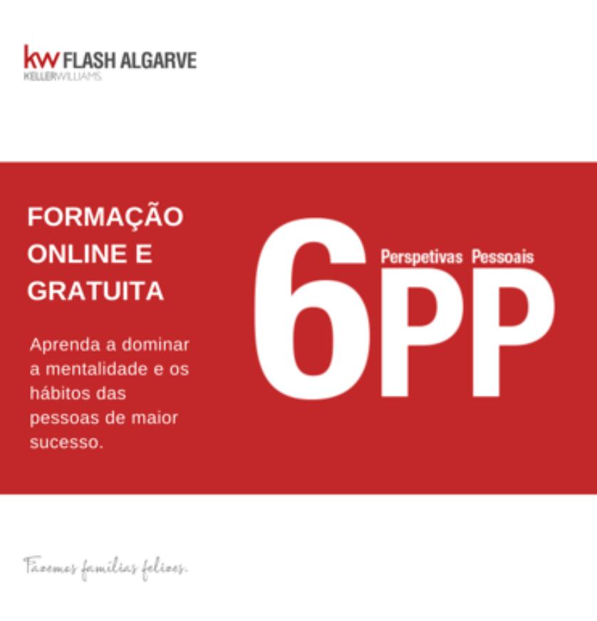 6PP | Formação | KW Flash Algarve - De Consultores para Consultores